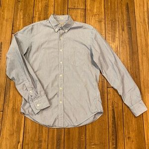 J. Crew men's slim fit stripe shirt